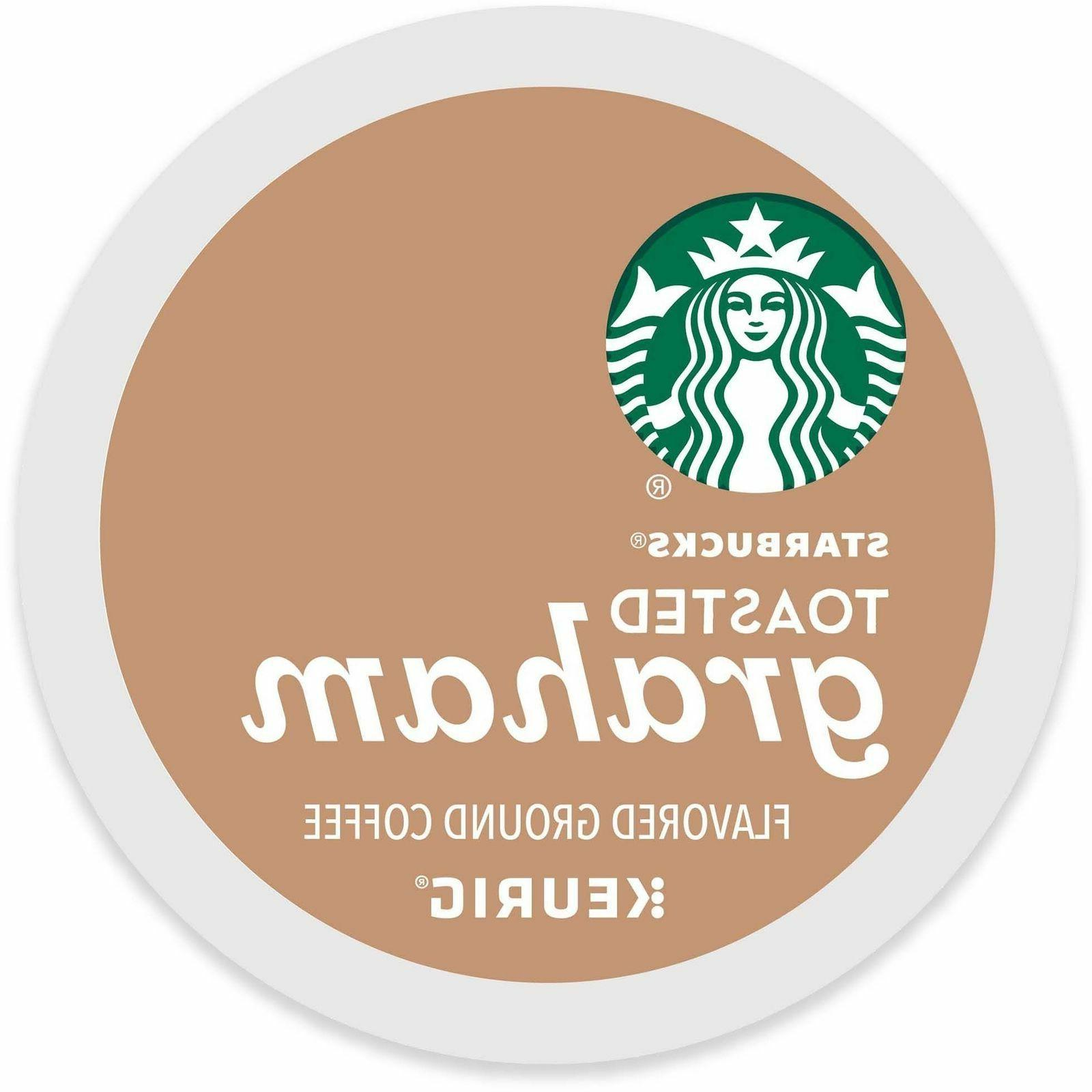 Starbucks Toasted Graham Coffee 16 to 64 Count Keurig K cups