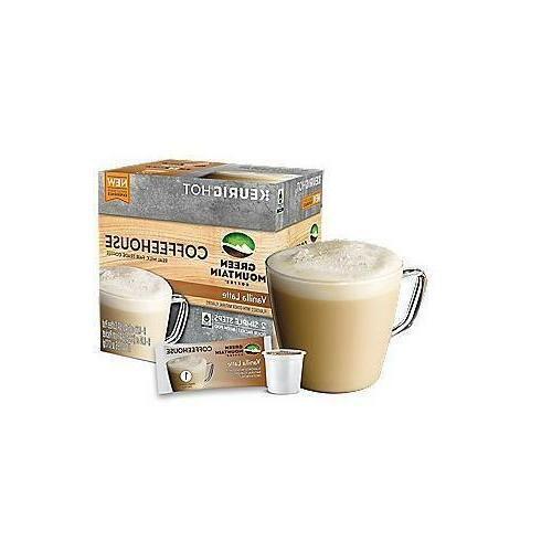 Vanilla Latte Froth K Green Mountain -