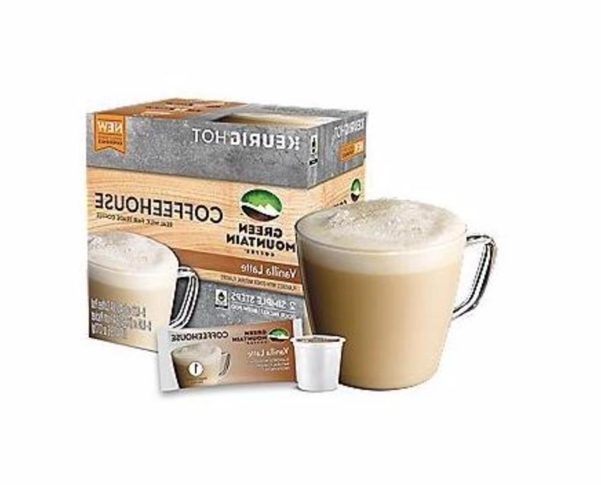 vanilla latte pod froth packet
