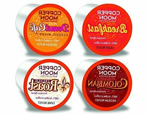 Copper Moon Variety Pack Coffee 80 Keurig K cups Pick Any Si