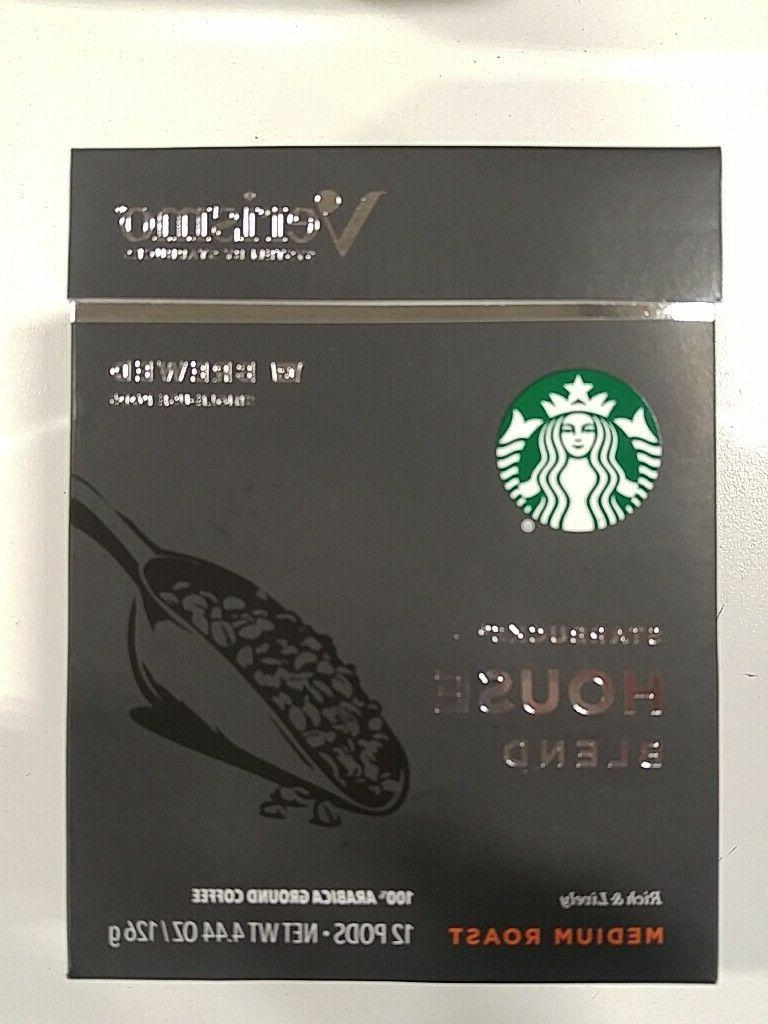 verismo 12 count house blend coffee pods