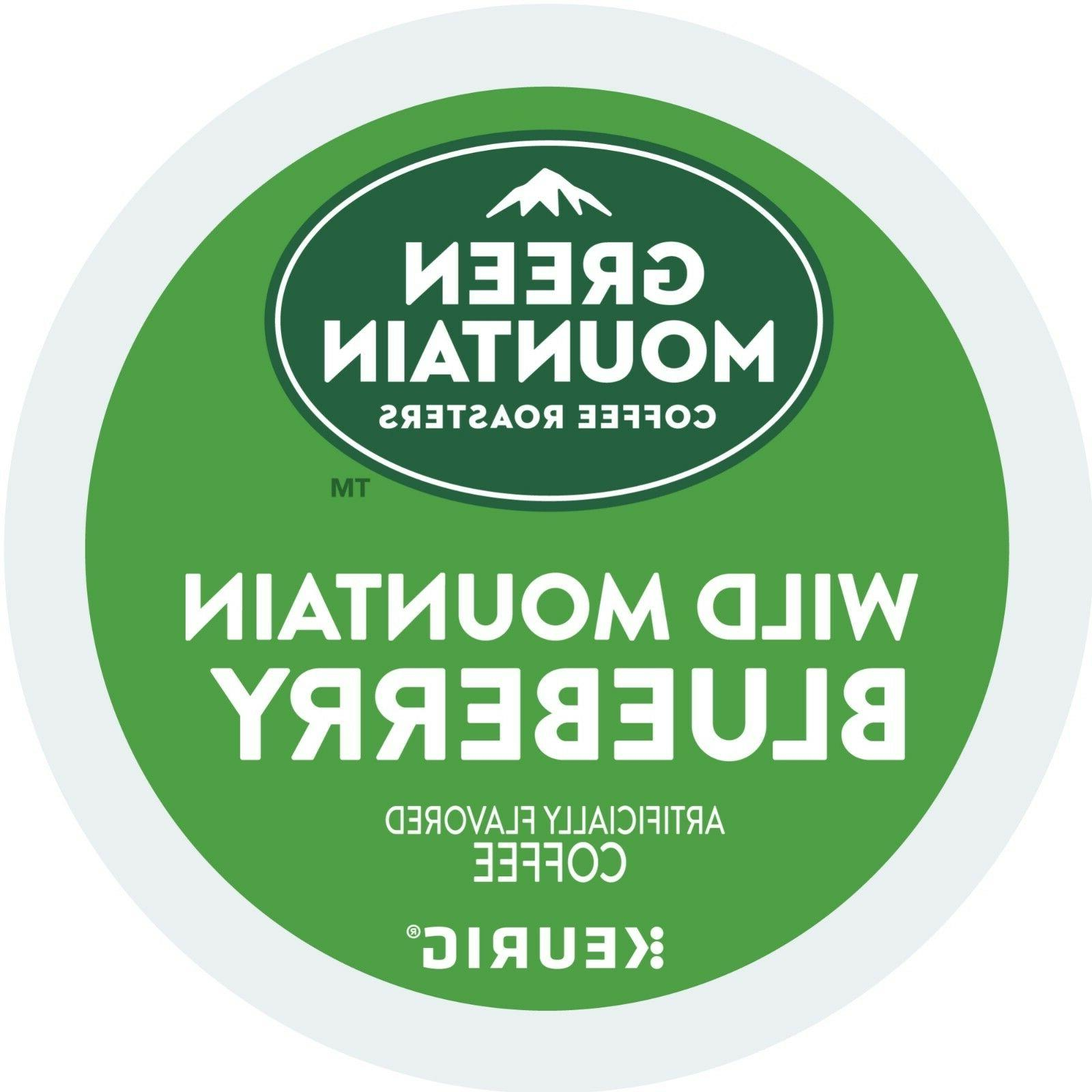 Green Mountain Wild Mountain Blueberry 24 to 96 Keurig K cup