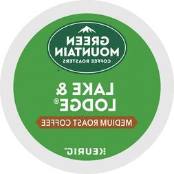Green Mountain Lake & Lodge Coffee 24 to 96 Count Keurig K c