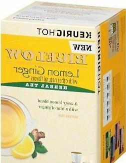 Bigelow Lemon Ginger Herbal Tea K-Cup Pods