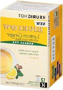 Bigelow Lemon Ginger Keurig K-Cups Box of 12 Cups   Single S