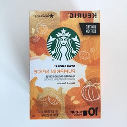 Limited Edition Starbucks Pumpkin Spice Flavored Coffee K-Cu