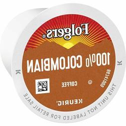 Folgers 100% Columbian Medium Dark Roast Coffee 100 ct. K-Cu