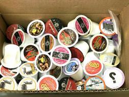 LOT OF 100 Flavored Coffee K Cups Pods Keurig Brewers VARIET