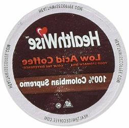 HealthWise HealthWise Low Acid Coffee 100% Colombian Supremo