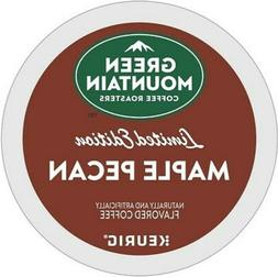 GREEN MOUNTAIN MAPLE PECAN K CUPS Keurig Coffee 12 to 120 CO