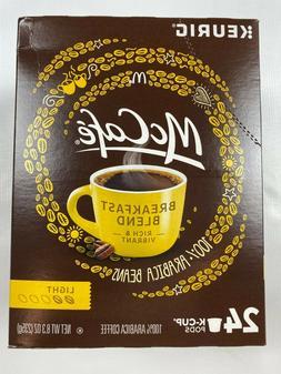 McCafe Breakfast Blend Coffee 96 Count Keurig K-Cups 100% Ar
