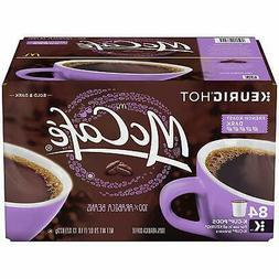 McCafe French Roast Dark Coffee K-Cups Single Packs for Keur