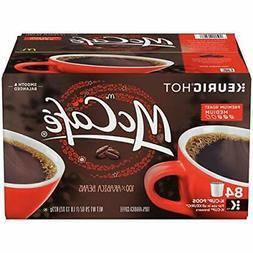McCafe Premium Roast Medium Coffee K-CUP PODS 84 Count 100%