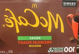 McCafe Premium Roast Decaf Coffee, K-CUP PODS, 100 Count