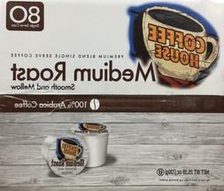 Coffee House Medium Roast Coffee K-Cups 80 count *~* FAST FR