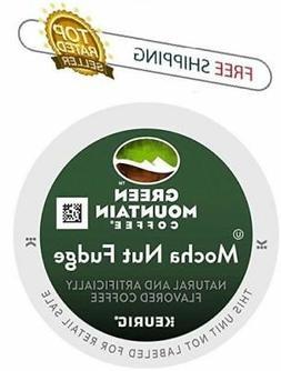 Green Mountain Coffee Mocha Nut Fudge, K-Cup Portion Pack fo