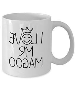 Mr Magoo Mug - Funny Favorite Person 11 oz And Big 15 oz Cer