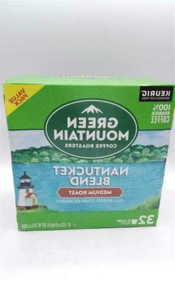 Green Mountain Nantucket Blend Coffee Keurig K-Cups, 32 Coun