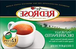 Red Rose Naturally Decaffeinated 12ct Single-Serve Cups - 1