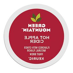 Green Mountain Naturals Hot Apple Cider 24 to 144 Keurig K c