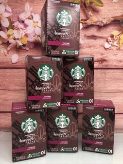 NEW Starbucks Dark Roast K-Cup Coffee Pods French Roast =60
