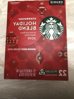 New Starbucks Holiday Blend Medium Roast Ground Coffee Keuri
