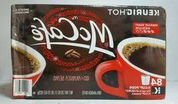 New McCafe Medium Roast 100% Arabica Keurig K Cups Coffee 84