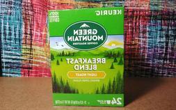 NIB Green Mountain Breakfast Blend Light Roast Coffee K Cups