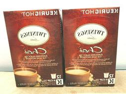 Twinings of London Chai Flavoured Black Tea K-Cups - 24 K-Cu