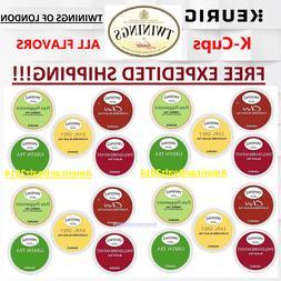Twinings of London Coffee Keurig K-Cups PICK ANY FLAVOR & QU