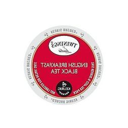 Twinings of London English Breakfast Tea Keurig K-Cups 96-Co