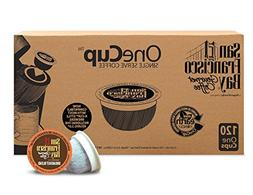 San Francisco Bay OneCup, Breakfast Blend, 120 Single Serve