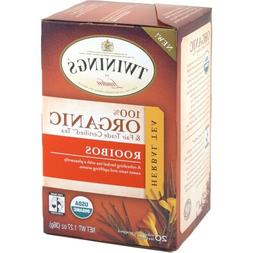 Twinings Organic and Fair Trade Certified Rooibos Tea Bags,