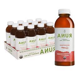 RUNA Clean Energy Organic Guayusa Iced Tea, Unsweetened Guav