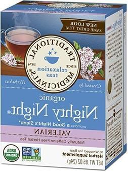 Traditional Medicinals Organic Nighty Night Valerian Relaxti