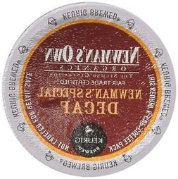 Newman's Own Organics SPECIAL BLEND DECAF 48 K-Cups for Keur