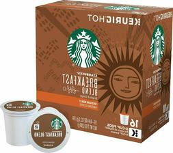 Starbucks Breakfast Blend Medium Roast K-cups