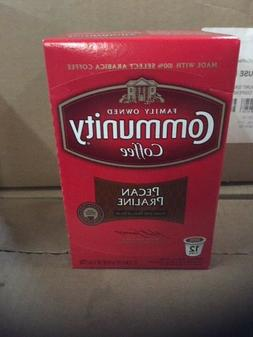 COMMUNITY COFFEE - Pecan Praline - 12 K-Cups Best by 07/12/1