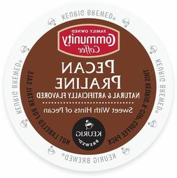 Community Coffee Pecan Praline Coffee 18 to 144 Keurig K cup