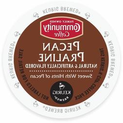 Community Coffee Pecan Praline Coffee 18 to 144 Keurig K cup