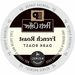 Peet's Coffee French Roast Coffee 22 to 110 Keurig Kcups Pic