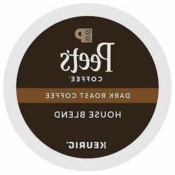 Peet's Coffee House Blend Coffee 22 to 132 Keurig K cups Pic