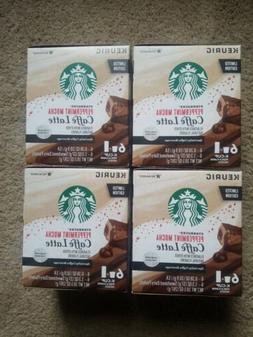 Starbucks Peppermint Mocha Cafe Latte Keurig K Cups  & Packe