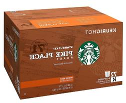 Starbucks Pike Place K-Cups 72 ct. 100% Arabica Coffee - Med