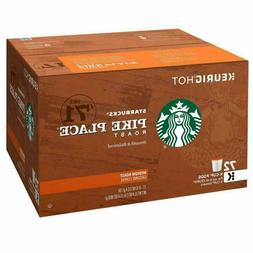 STARBUCKS PIKE PLACE K-CUPS, CHOCOLATE & TOASTED NUT MED. RO