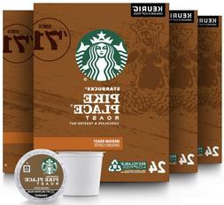 Starbucks Pike Place Medium Roast Coffee K-Cups Pods - 96 Co
