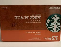 Starbucks Pike Place Medium Roast K Cups • 72 Count • BB