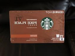 Starbucks Pike Place Medium Roast K-Cups • BBD 2/2019 •
