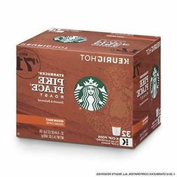 Starbucks Pike Place Roast Medium Roast K Cups 32 Count