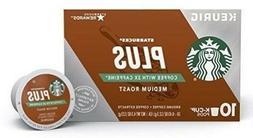 Starbucks PLUS Medium Roast Coffee 2X Caffeine 10 Count Keur